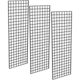 Only Garment Racks - Commercial Grade Gridwall Panels – Heavy Duty Grid Panel for Any Retail Display, 2' Width x 6…