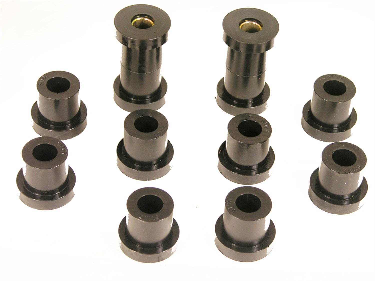 Prothane 7-1023-BL Black Rear Spring Eye and Shackle Bushing Kit