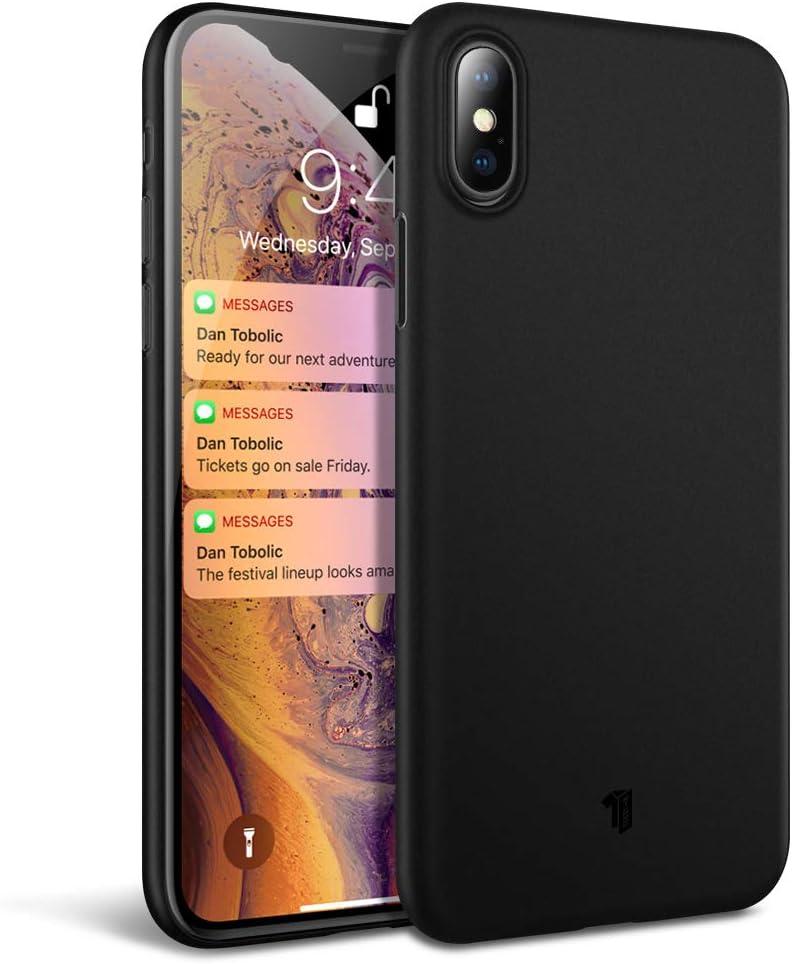 iPhone X H/ülle, Blau X-level iPhone XS H/ülle Guardian Serie Ultrad/ünn Schlank TPU Case Weiche Handyh/ülle Silikon Schutzh/ülle f/ür iPhone XS//iPhone X Cover 5,8 Zoll 360/° Voller Deckel