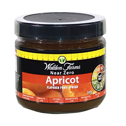 Walden Farms 340g Apricot Calorie Free Fruit Spread