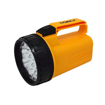 Silverline Wind-Up Torch 3 LED Torches /& Lamps DIY Tool