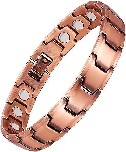 Jeracol Magnetarmband Magnetische Kupfer Armbänder