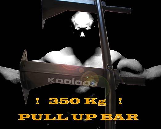 KIT tracción en barra Pull UP KOOLOOK Barra para tracciones + Botas de gravedad + GASTOS DE ENVÍO GRATIS!!!!: Amazon.es: Deportes y aire libre