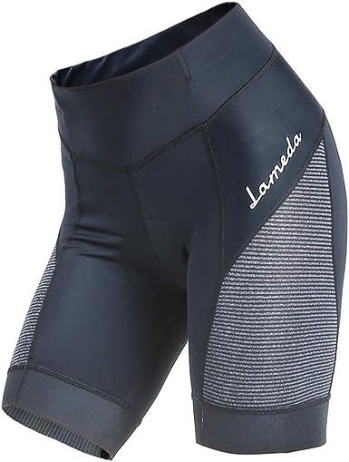 Pantalones cortos de ciclismo MiOYOOW para mujer, acolchados ...