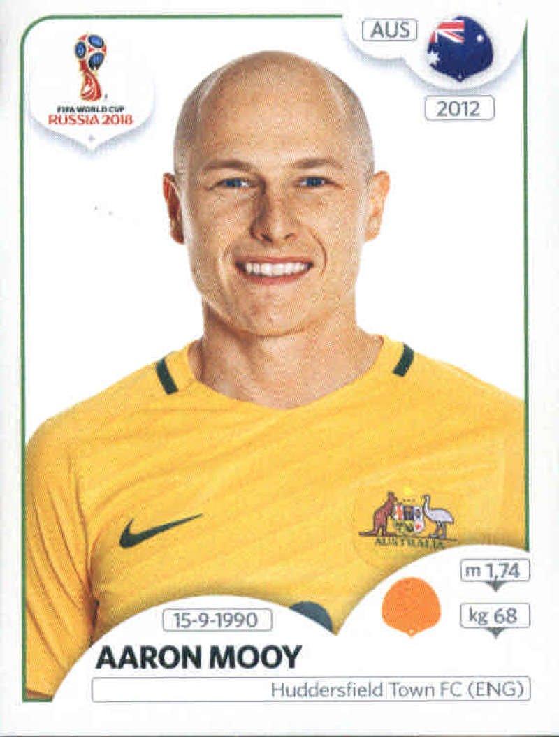 World Cup Aufkleber Russland 2018/Panini 222/Aaron Mooy Australien Fu/ßball Aufkleber