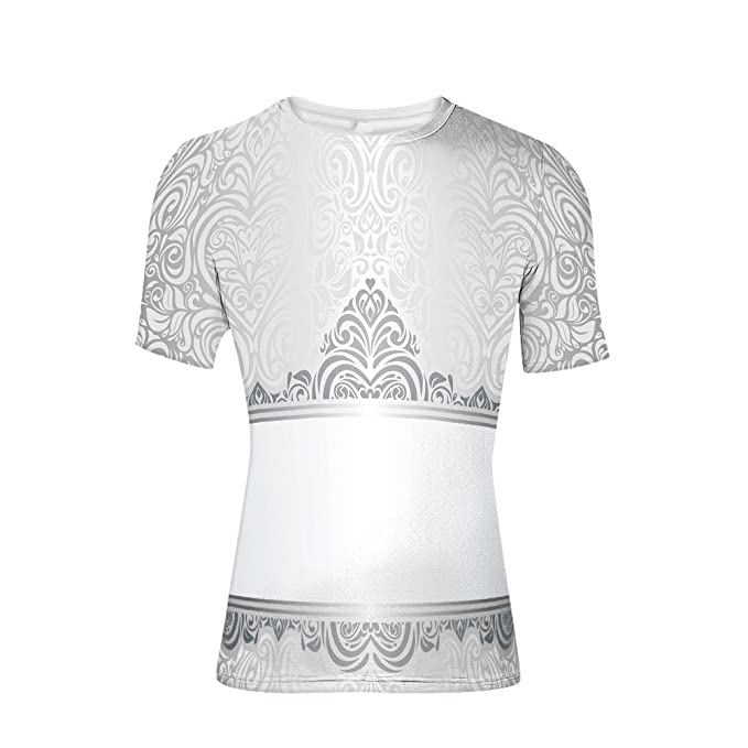 73a7a629bf41 Amazon.com: T-Shirt Short Sleeves,Motifs Forms Heart Shapes Bridal ...