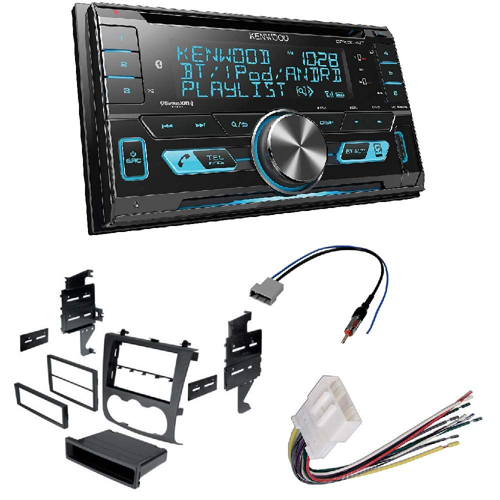 Amazon.com: Kenwood DPX503BT Double DIN CD Bluetooth ... on