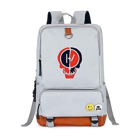 bienes de conveniencia encontrar mano de obra Calidad superior XueDaoLao Twenty One Pilots Mochila para portátil con diseño ...