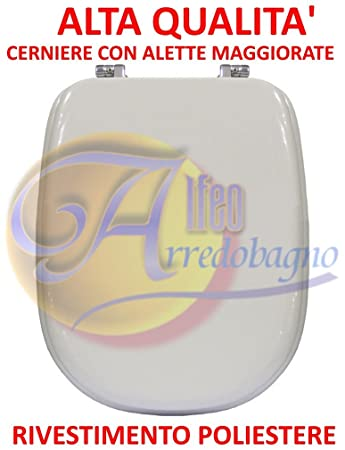 Sedile Wc Ideal Standard Serie Tesi.Copriwater Sedile Wc Ideal Standard Tesi Bianco Coprivaso Poliestere Alta Qualita