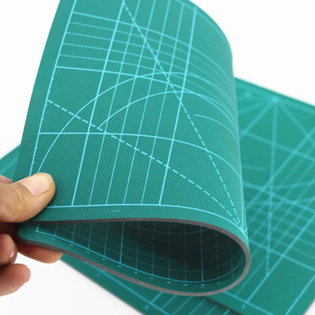 Plastic Materials Patchwork Ruler Blue A4 Cutting Plate 30*22cm School Stationery Supplies Tailor A4 Cutting Mat Rulers
