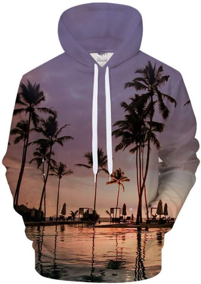 BAI Aassdd 3D Baum Sweatshirts Männer Frauen Sweatshirt Hoodie Print Sweatshirts Anzug Streatwear Mantel Pullover Sea Style,* L L