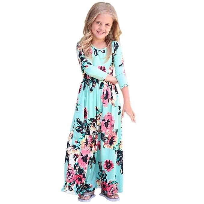 e99e872b5a Vestito da Bambina, BeautyTop Neonata Bambino Ragazza Abiti da ...