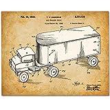 vintage mack truck bulldog - Tonka Toy Truck Patent - 11x14 Unframed Patent Print - Art for Boy's Room