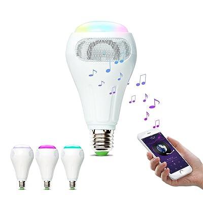 900lm Smart E27 Contrôle W Ihomma Ampoule 12 Wifi Musique Rgbww UpjLqzGSVM