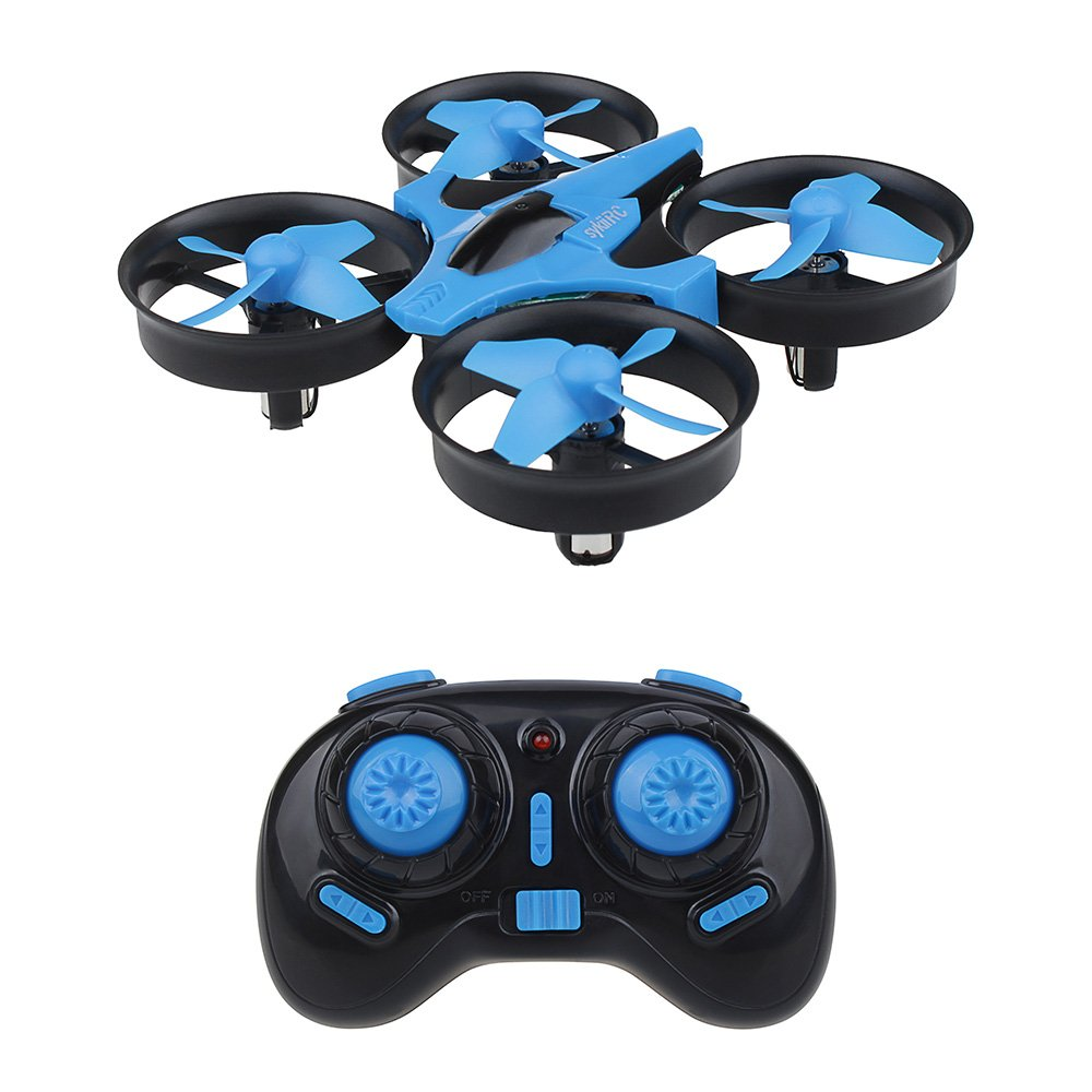 sykii RC Mini Drone H36 2.4GHz 6Axis Gyro Headless Mode Remote Control One Key Return RC Helicopter