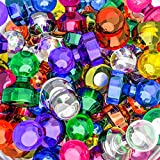 Push Pin Magnets, 65 Pack Assorted Colored Kitchen