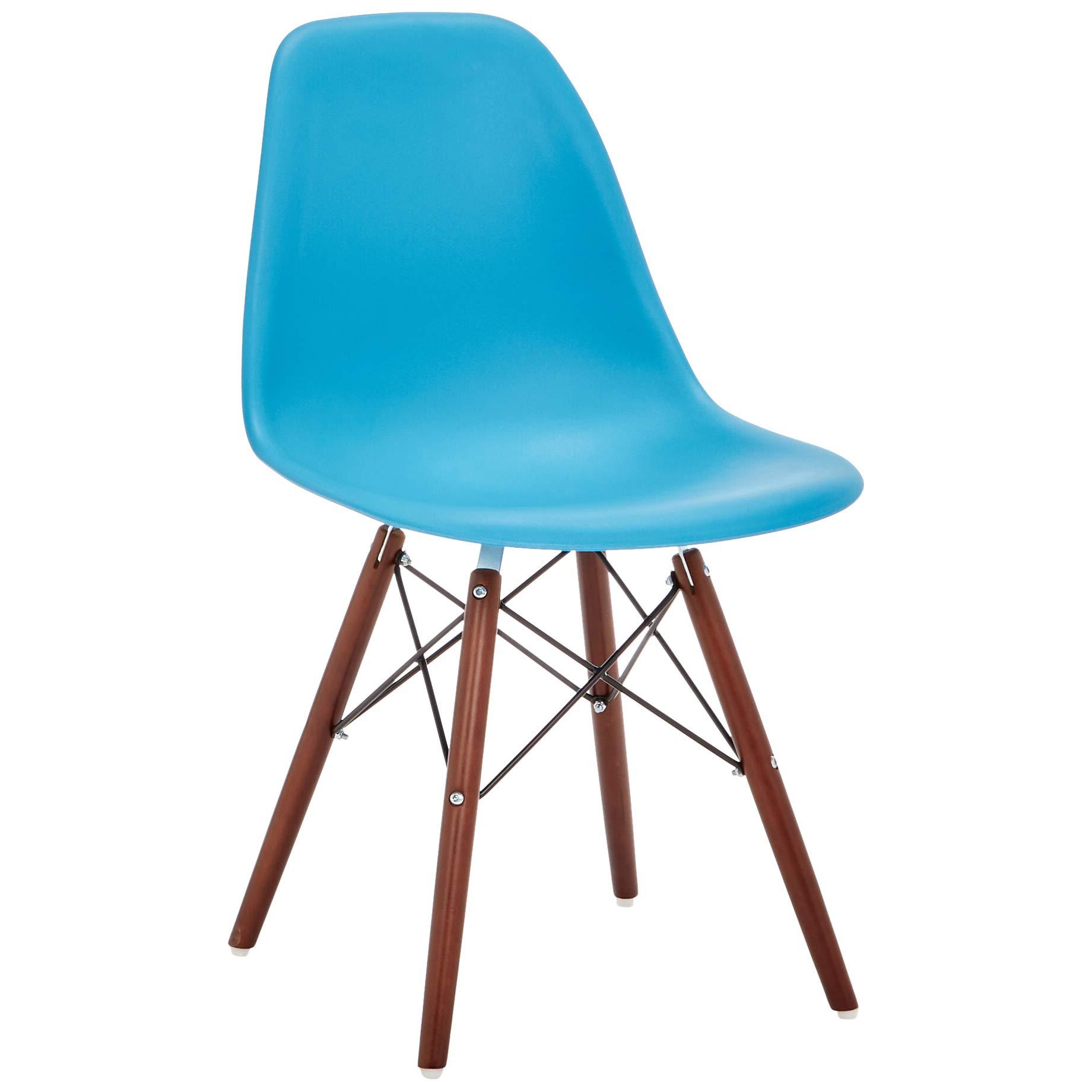 Phoenix Home AVH072002 Dining Chair, 21'' Length x 18.5'' Width x 32.5'' Height, Aqua