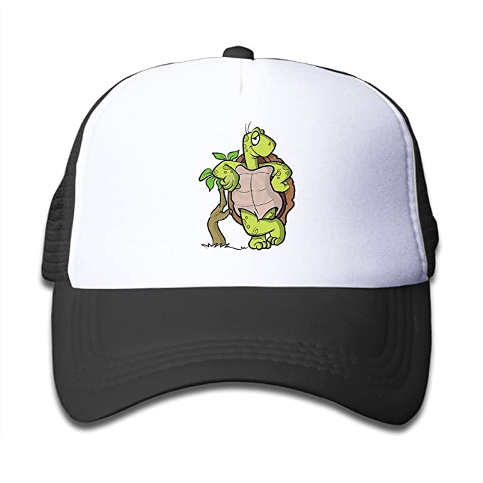 Amazon.com  Elephant AN Turtle Leaning Against Tree Mesh Baseball ... 6c58b134f907