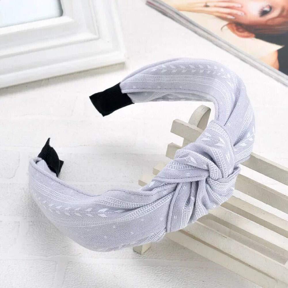 Women Headband Hair Accessories Headpiece Fashion Bow Knot Hairband Women Hair Head Hoop Simple Sweet Girls Hair Band by Walaha