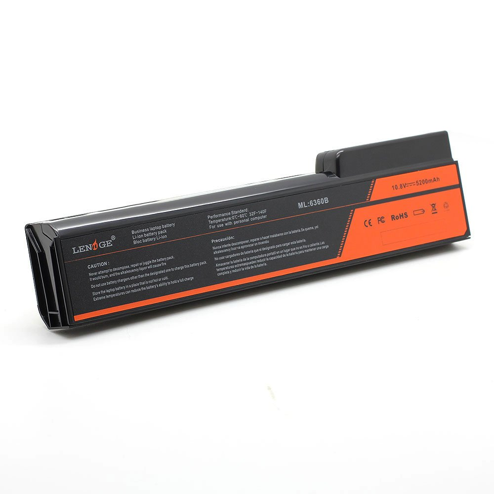 LENOGE 10.8V 5200mAh Laptop Battery Compatible for HP EliteBook 8460p 8460w 8470p 8470w 8560p 8570p 8770P CC03 CC06 CC06X CC06XL CC09 HSTNN-CB2F 6360b 6360t ...