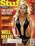 AMANDA DETMER STUFF FEBRUARY 2001 CUTE CUDDLY KILLERS GENA LEE NOLIN MARILYN MANSON CANNIBAL CUISINE AND MORE!