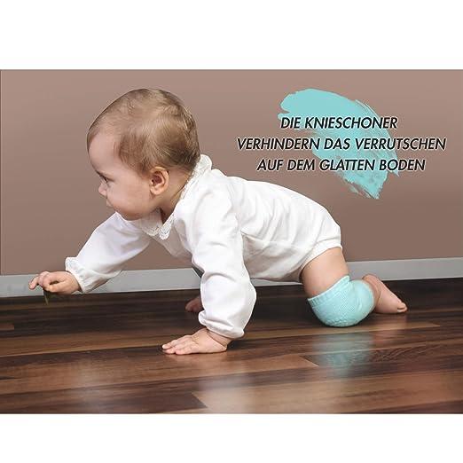 #1 Baby Kniesch/ützer Unisex Verdicken Einstellbar Elastisches Weiches Krabbelschutz Kleinkind Schutzkissen
