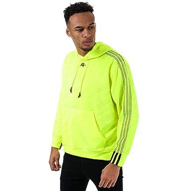 official store popular brand catch adidas Originals Men's Alexander Wang Jaquard Hoody XS ...