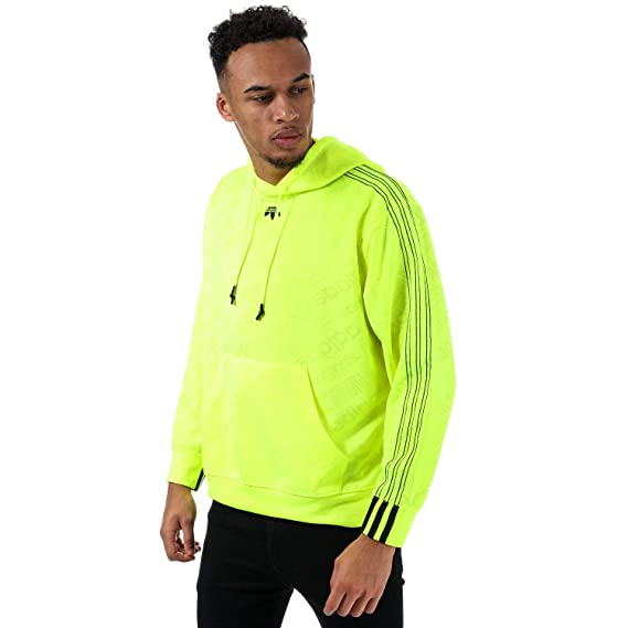 special for shoe newest collection super popular adidas Originals Sweat Alexander Wang Jacquard Jaune Homme ...