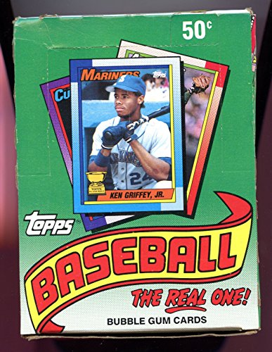 1990 Topps Baseball Wax Pack Box Frank Thomas Rookie Card...