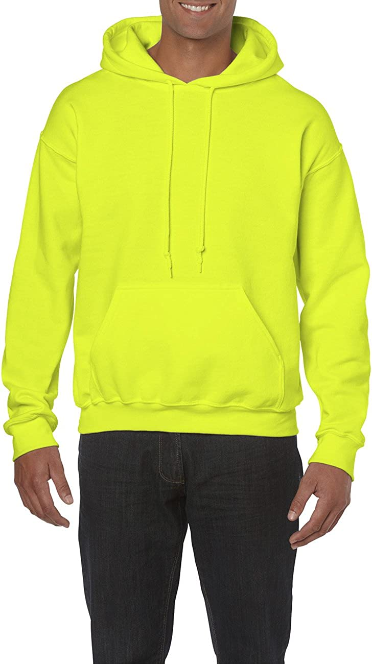 GILDAN Herren Kapuzenpullover Adult 50//50 Einfarbig Hooded Sweat//18500