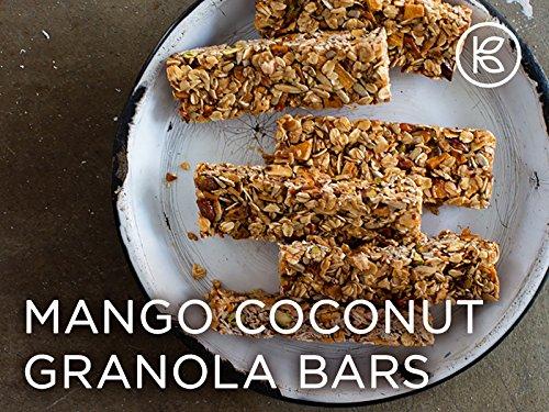 Mango Coconut Granola Bars