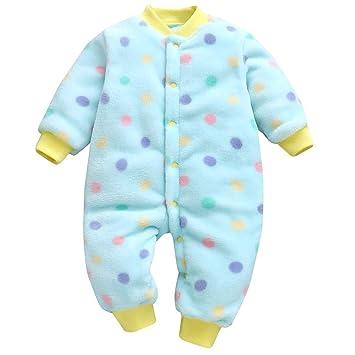 c7db073e3 Newborn Infant Baby Girls Boys Cartoon Leopard Print Jumpsuit Romper ...