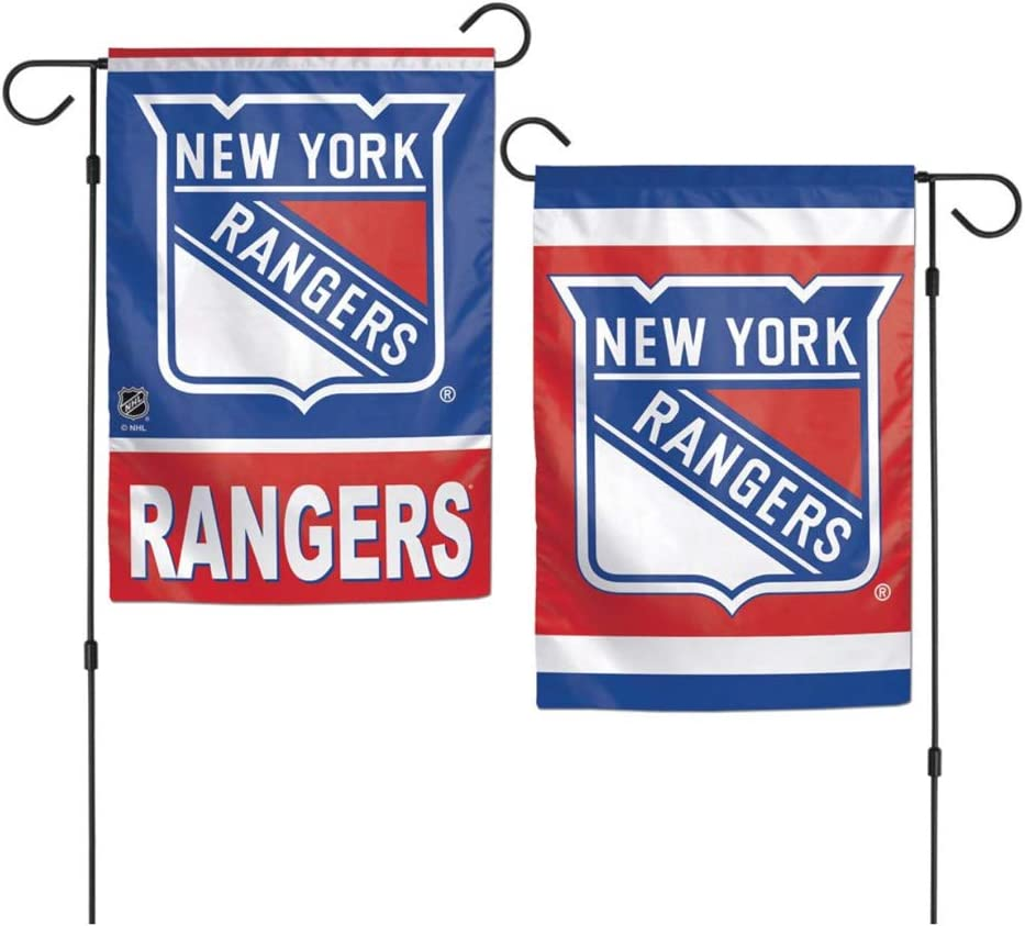 WinCraft NHL New York Rangers 12 x 18 inch 2-Sided Garden Flag