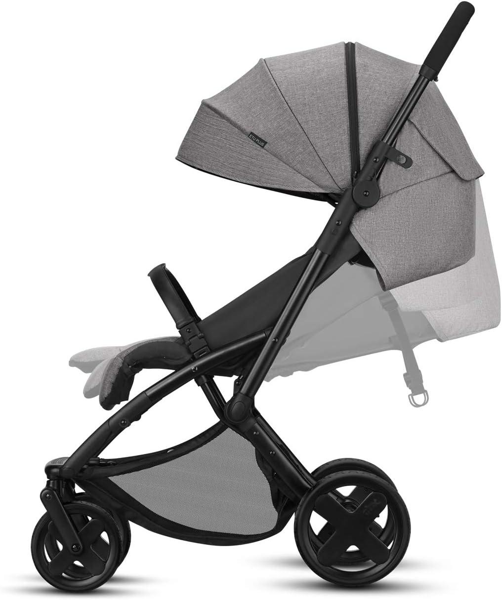 desde el nacimiento hasta los 15 kg incluye pl/ástico para lluvia Silla de paseo CBX EtuPlus Comfy Grey