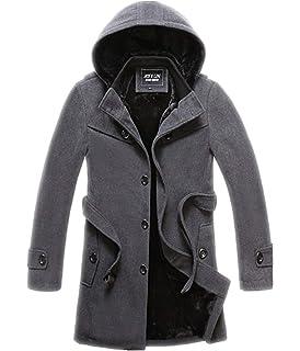 d238abb0b2d8 Battercake Wollmantel Elegante Wintermantel Winterjacke Winter Herbst Jacket  Männer Herren Mantel Jacke Bequeme Nner Parka Trenchcoat