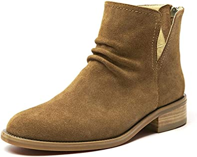 Beau Today Women's Suede Leather Ankle