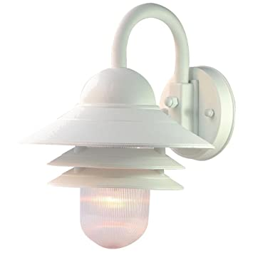 Acclaim 82TW Mariner Collection 1 Light Wall Mount Outdoor Light Fixture,  Textured White