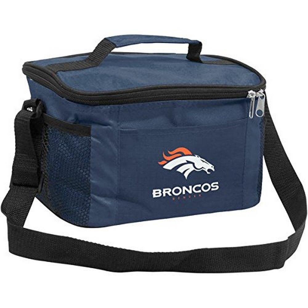 NFL Officially Licensed Denver Broncos 6-Pack Insulated Cooler Bag