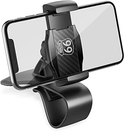 5s 8//7 Plus Dashboard Clip Car Phone Holder Mount with 360-Degree-Rotation for iPhone Xs Max//Xr//Xs//X Samsung Glaxy and Note Series and More Cell Phones 7s 8 Plus 6s