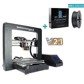 Wanhao Duplicator i3 Impresora 3d V2.1 + yourdroid filamento ...