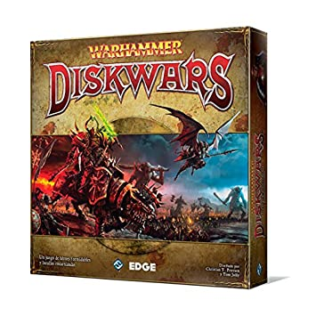 Warhammer Diskwars Juego De Mesa Edge Entertainment Edgwhd01