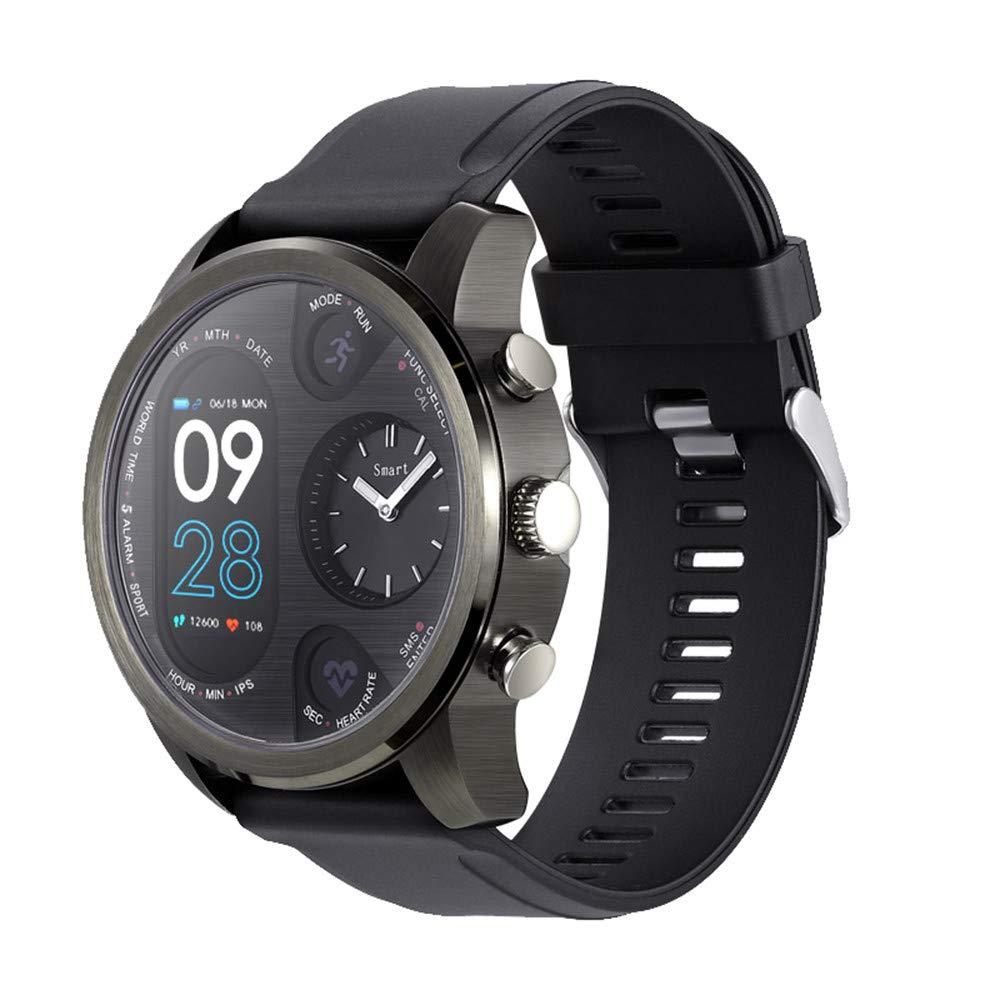 Axiba Smart Watch Fitness Activity Heart Rate Tracker Waterproof, Smart Watch Fitness Activity Heart Rate Blood Pressure Tracker Waterproof (Black)