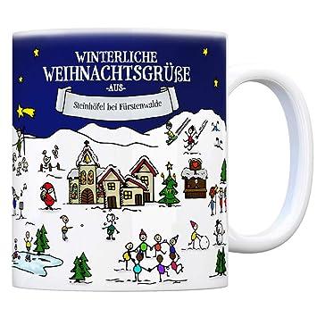 Weihnachtsmarkt Fürstenwalde.Steinhöfel Bei Fürstenwalde Weihnachten Kaffeebecher Mit