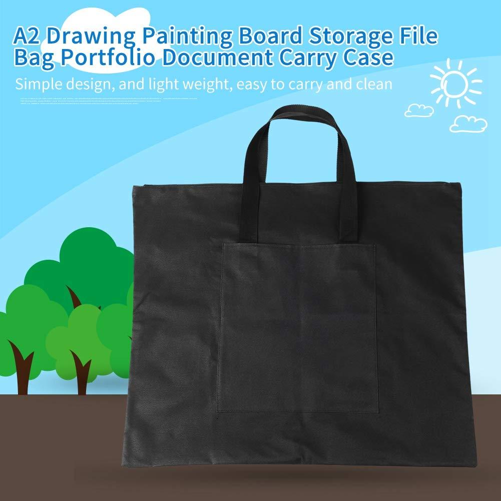 Huakii A2 Art Portfolio Tasche Zeichnung Painting Board Storage Datei Tasche Dokument Tragetasche
