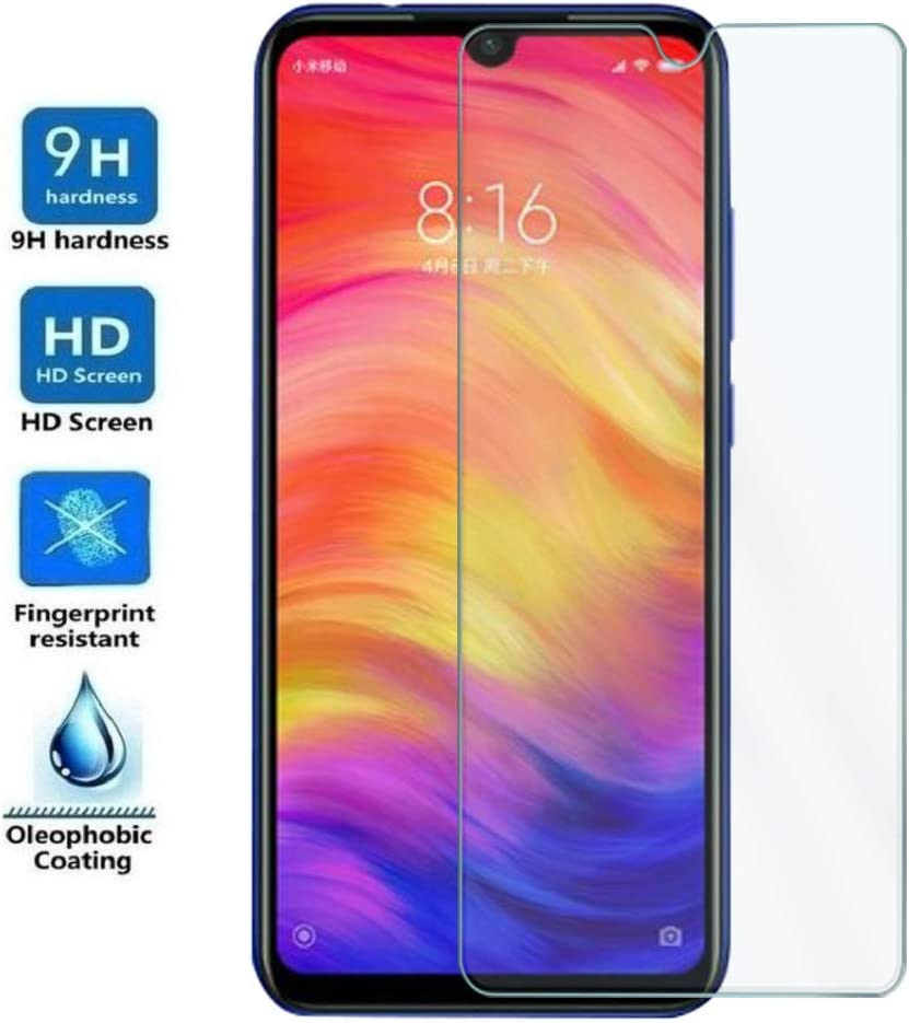 Protector de Pantalla para XIAOMI REDMI Note 8 - Note 7-7 Pro - Note 7S, Cristal Vidrio Templado Premium