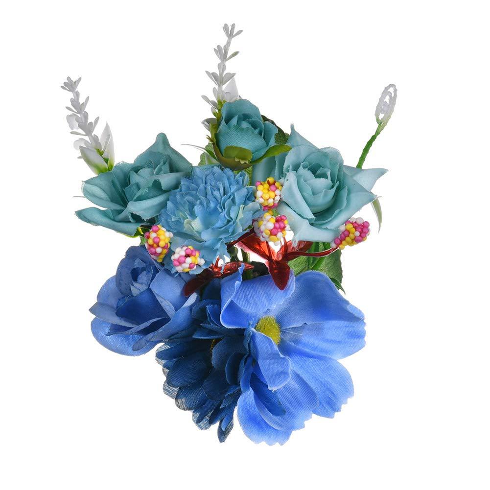 Jungen Bijoux de cabello flor artificial – Pinza para el pelo ...