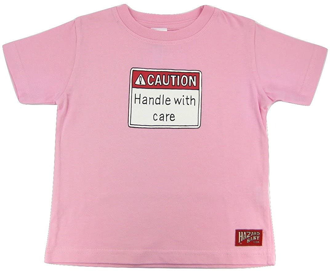 Caution Handle with Care Unisex Toddler Gift Funny Toddler Tshirt