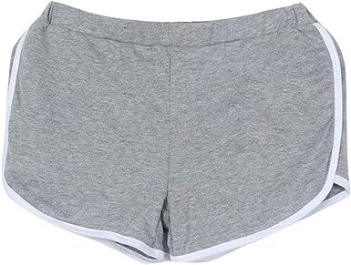 Pantalones De Mujer Pantalones Cortos De Algodón Pantalones Cortos Pantalones Moda Completi Cortos Deportes Correr Gimnasio Pantalones Cortos De Yoga Pantalones Pantalones Cortos De Tela Mujer: Amazon.es: Ropa y accesorios