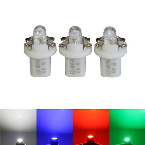4 x blau Halogen Trittbrettbeleuchtung LED-Mafia/® Trittbrettstufenbeleuchtung