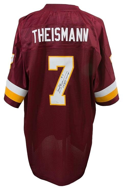 91b33cdb8 Joe Theismann Signed Washington Redskins Proline Replica Football Jersey SB  Champs JSA